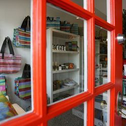 """Once you've picked up vintage treasures for your home, head next door to <a href=""""http://www.goodsla.com/"""">Goods</a> (1748 Ocean Park Blvd). This mom-and-pop shop is filled with fair-trade and handmade home goods, jewelry, accessories, bath and body produ"""