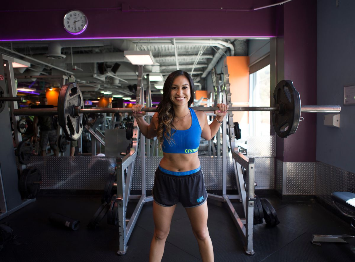 [8/13, 2pm] LA's Hottest Trainer 2015 Contestant #8: Katrina Valdez, Crunch Sunset