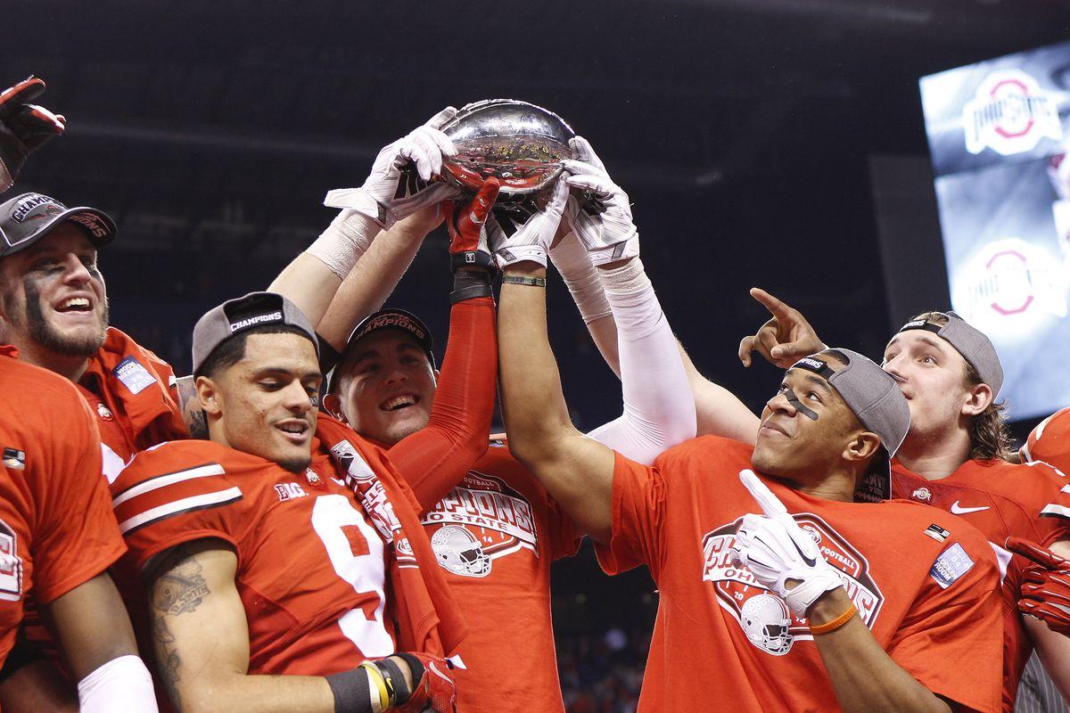 NCAA FOOTBALL: DEC 06 Big Ten Championship Game - Wisconsin v Ohio State