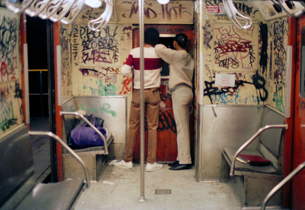 Graffiti in 1980.