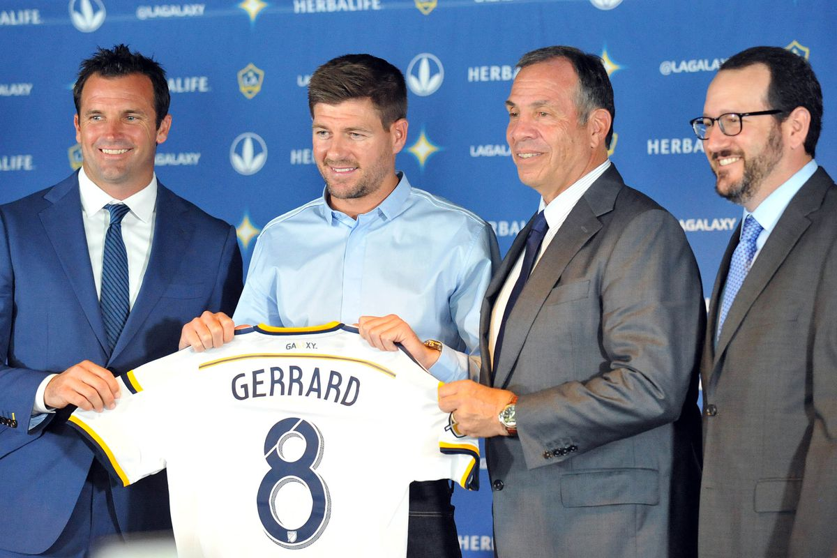 Steven Gerrard is launching a new chapter in his story
