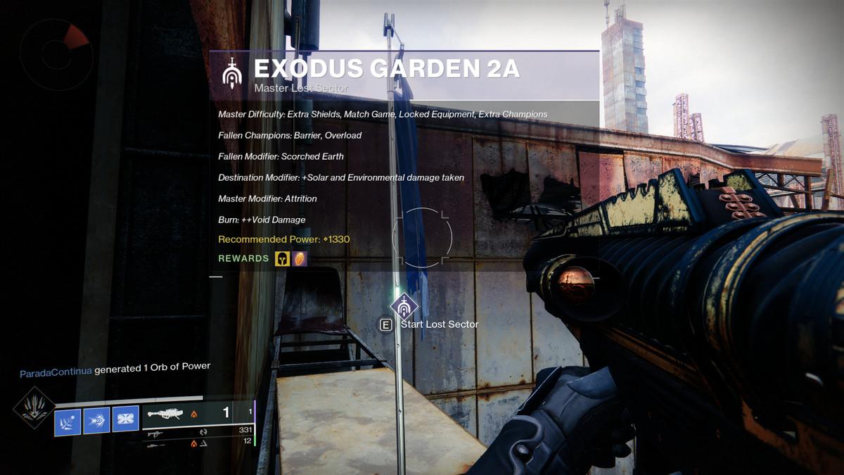 Destiny 2 Season of the Chosen Exodus Garden 2A flag