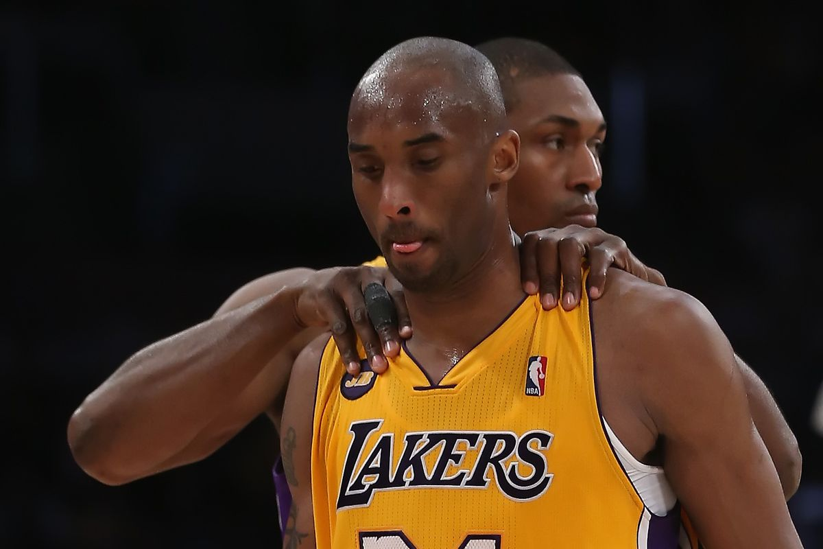 best service c5324 9535e Lakers News  Metta World Peace says Kobe Bryant, not LeBron James or  Michael Jordan, is the best player of his generation
