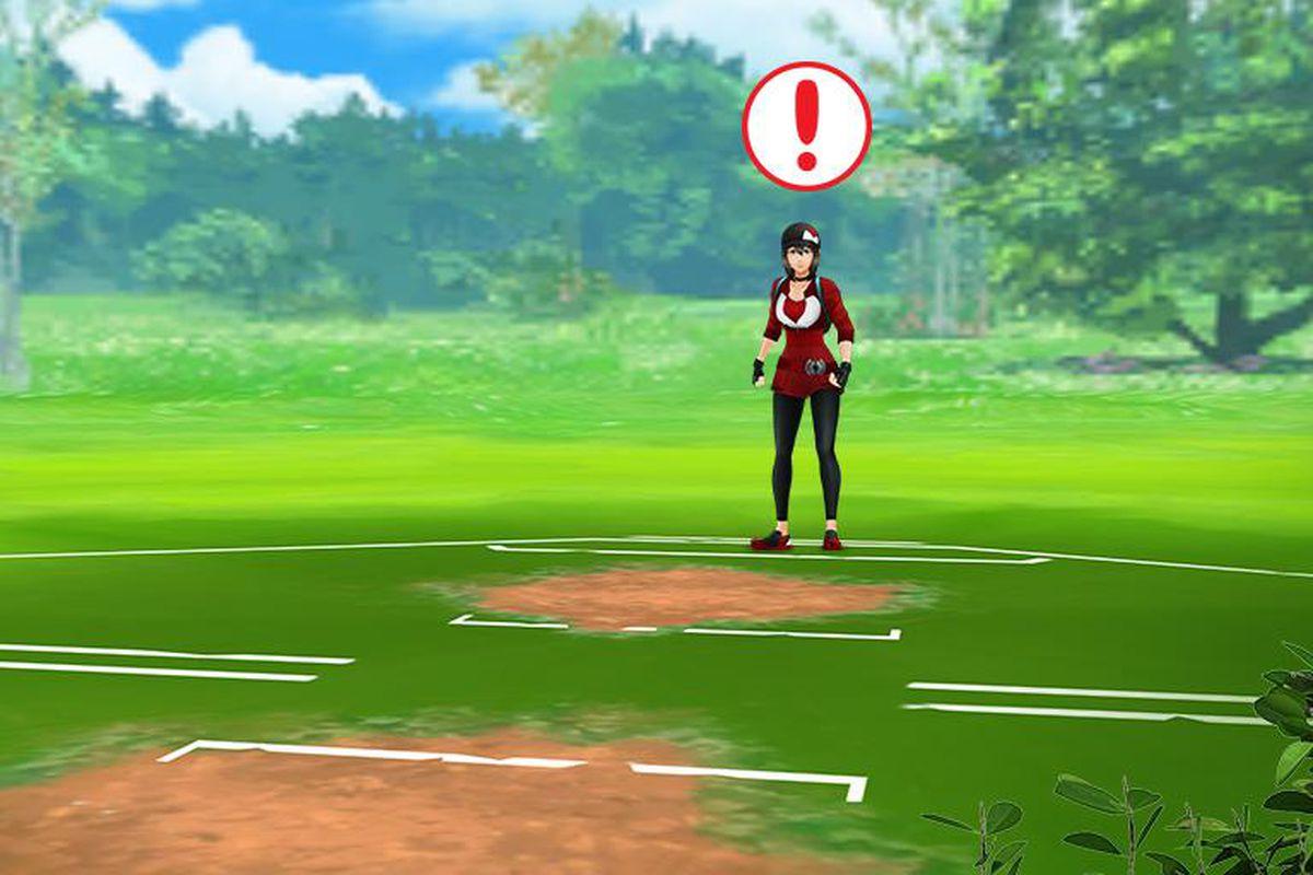 Trainer battle in Pokémon Go