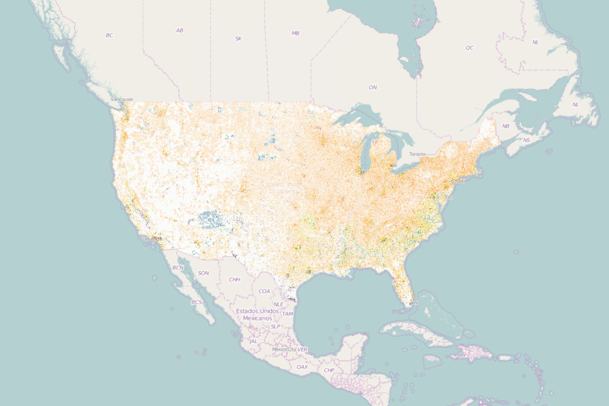 Racial diversity in the U.S. captured in detailed interactive map ...