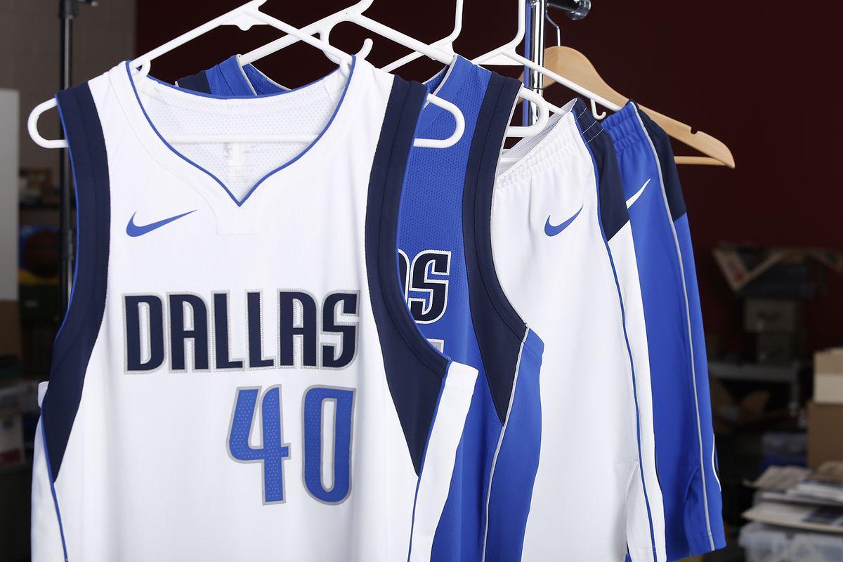 cd8228b7f The Mavs  new Nike uniforms are more of the same - Mavs Moneyball