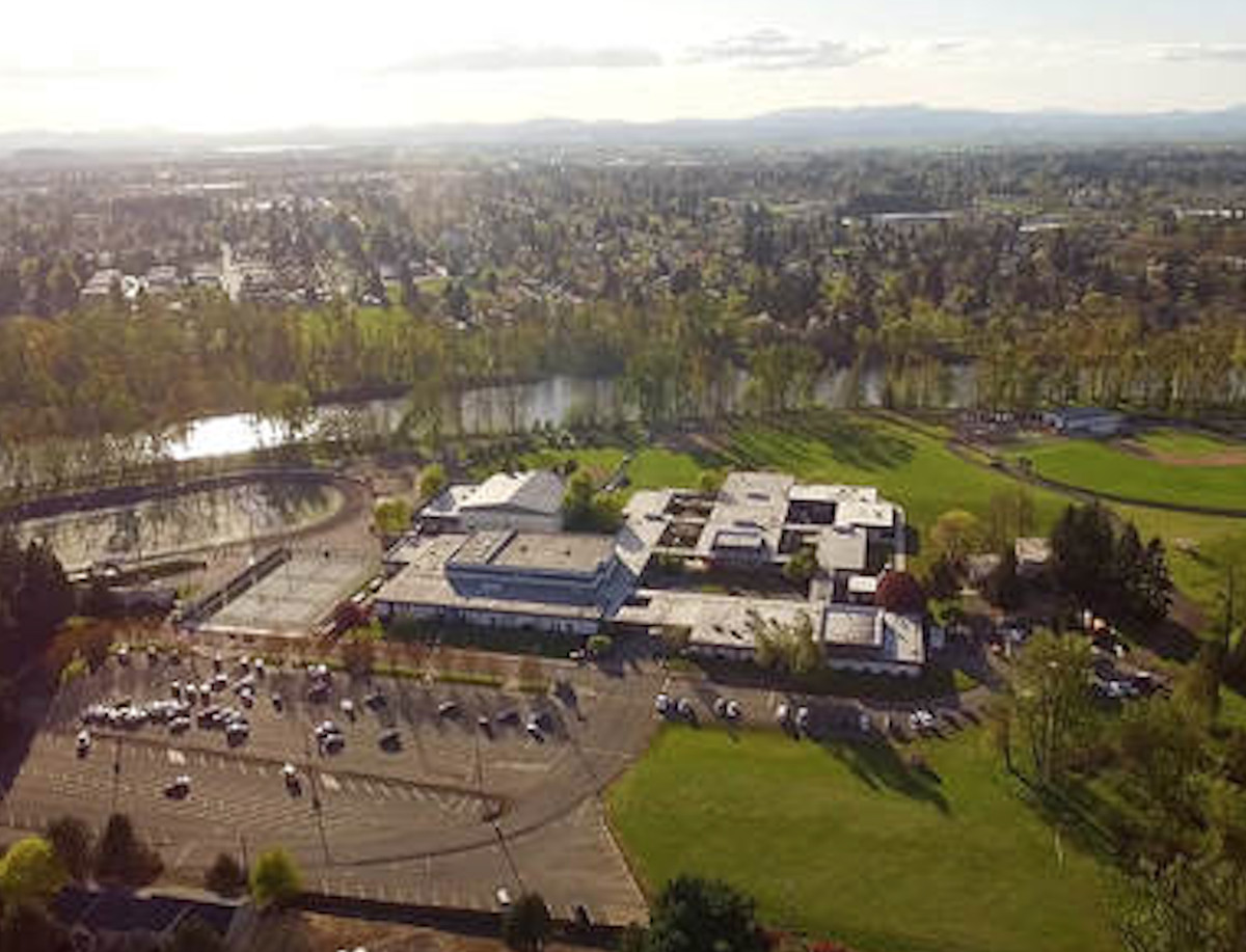Marist Catholic High School in Eugene, Oregon, where Brother Robert Ryan worked in the 1970s. He is accused in a recently filed lawsuit of repeatedly molesting a male former student there.