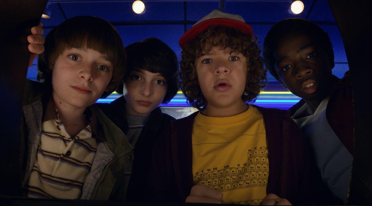 Stranger Things cast in season 2