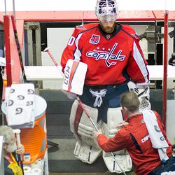 Holtby Leaves The ice