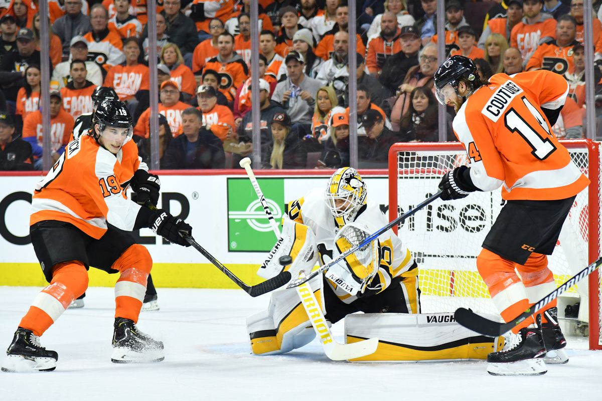 NHL: Stanley Cup Playoffs-Pittsburgh Penguins at Philadelphia Flyers