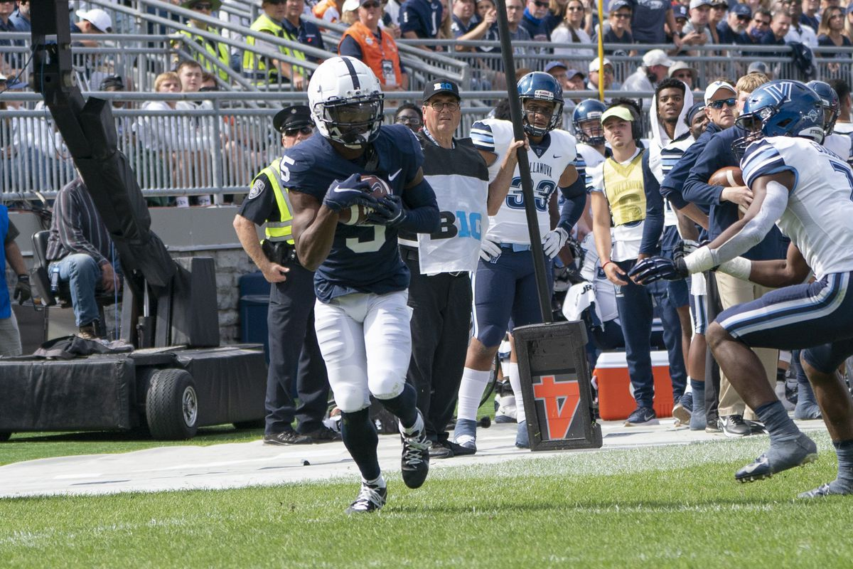 COLLEGE FOOTBALL: SEP 25 Villanova at Penn State