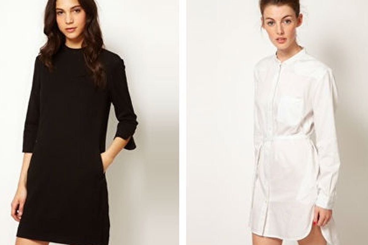 """French Connection <a href=""""http://us.asos.com/French-Connection-Crepe-Tunic-Dress/y72w8/?iid=2135361&amp;cid=5235&amp;sh=0&amp;pge=0&amp;pgesize=200&amp;sort=-1&amp;clr=Black&amp;mporgp=L0ZyZW5jaC1Db25uZWN0aW9uL0ZyZW5jaC1Db25uZWN0aW9uLUNyZXBlLVR1bml"""