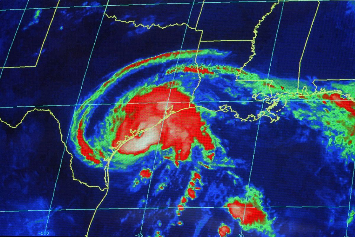 Hurricane Center Tracks Claudette As It nears Texas.
