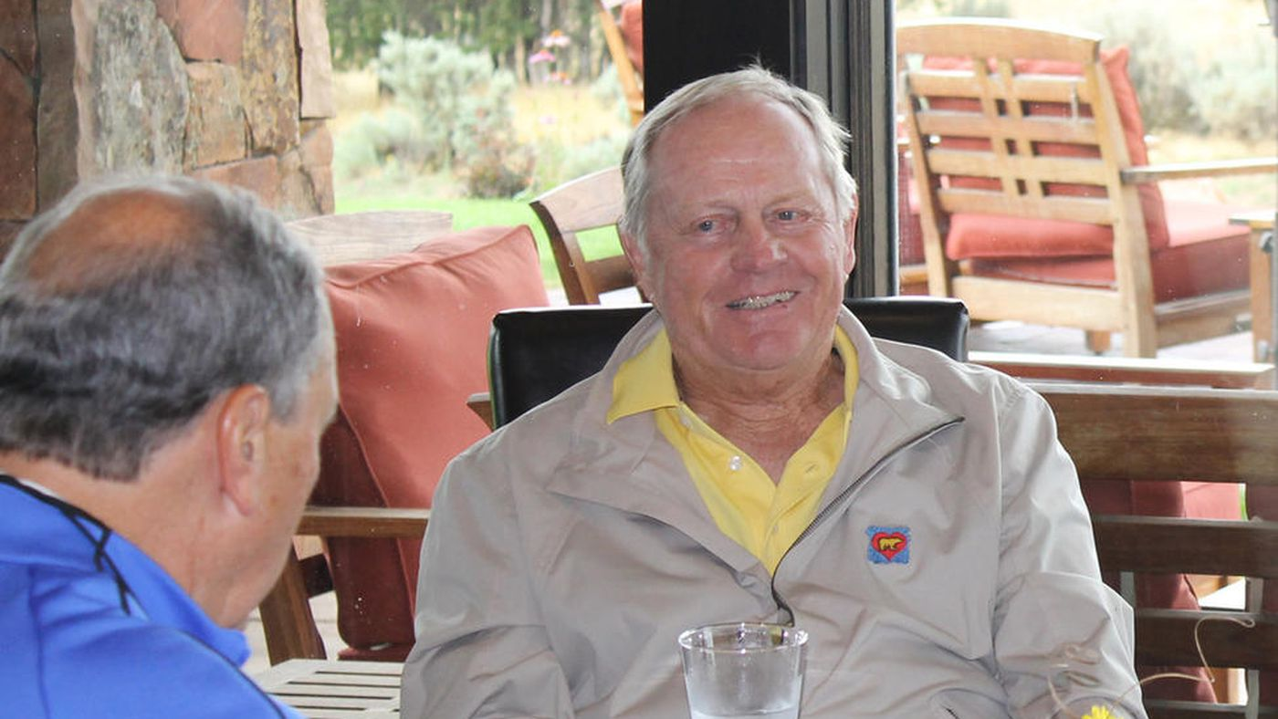 For busy Jack Nicklaus, it's still all about the family