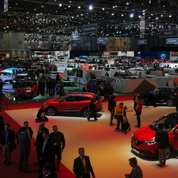 Geneva Motor Show floor