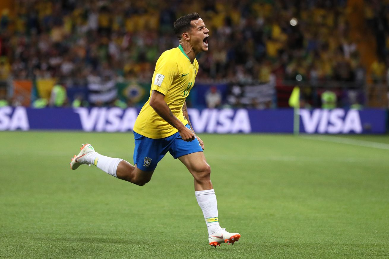 WATCH: Coutinho scores brilliant goal for Brazil