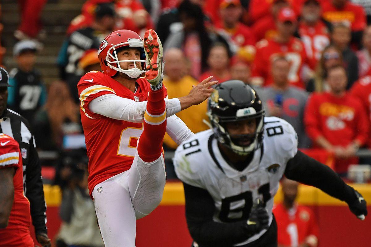 Dustin Colquitt will break a big Kansas City Chiefs record on Sunday