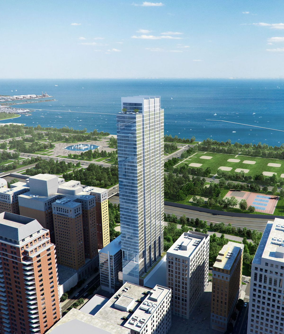 The Loop Apartments: South Loop's Essex On The Park Apartment Tower Opens This