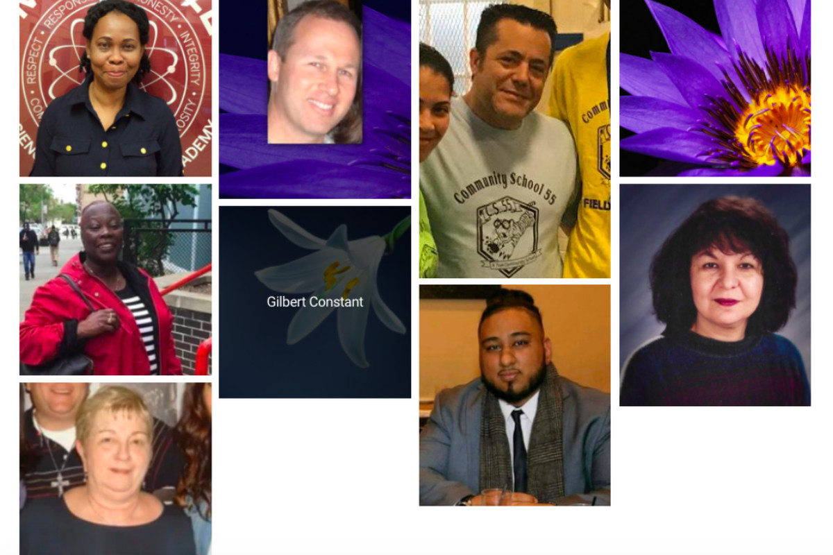 The United Federation of Teachers has collected these photos and posted them to a webpage launched to honor members who have died from presumed coronavirus complications.