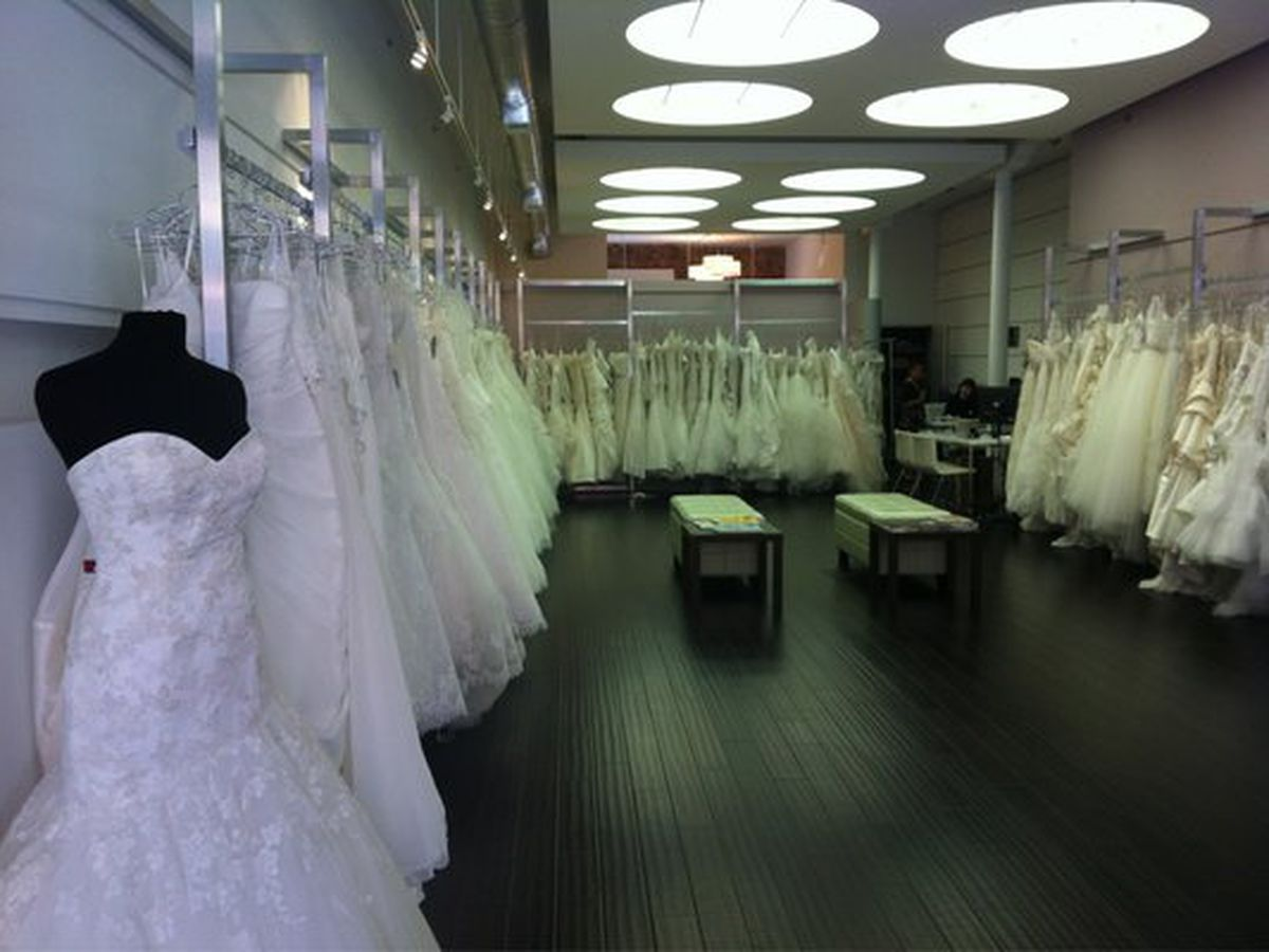 5 Spots For Scoring Divine Discounted Wedding Gowns In Sf