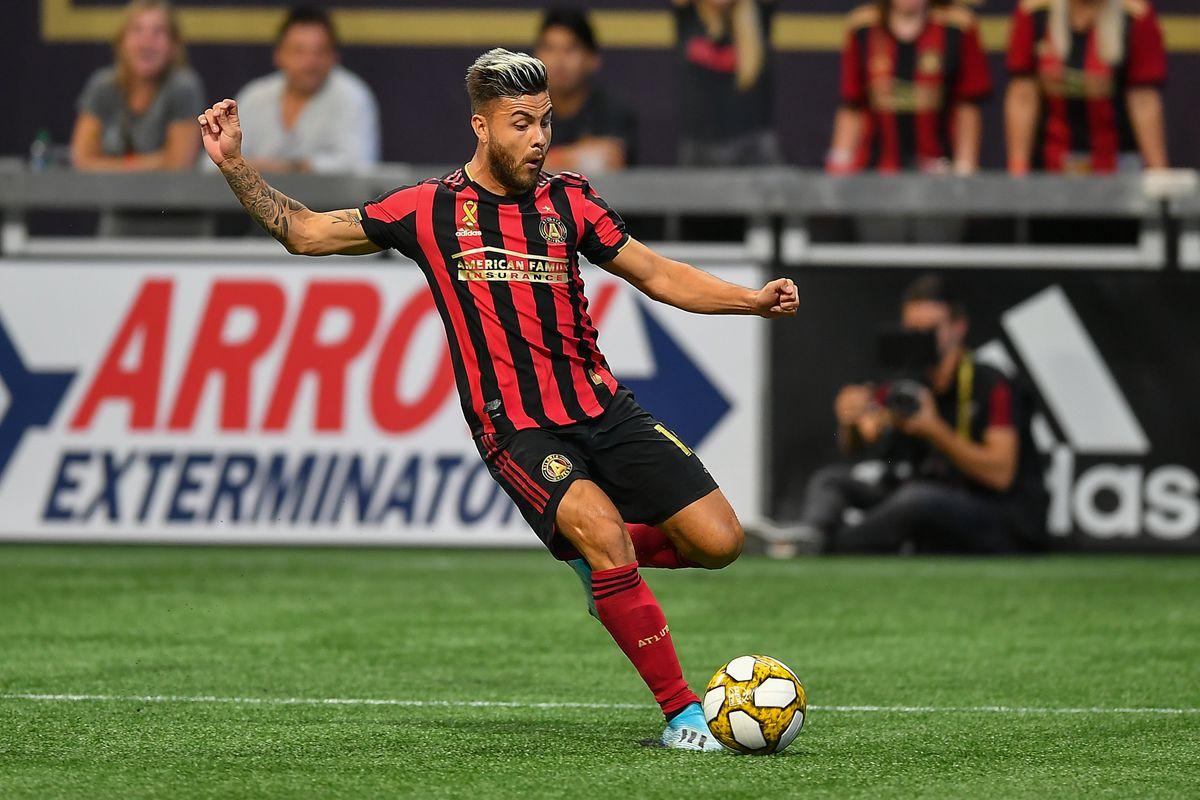 SOCCER: SEP 21 MLS - San Jose Earthquakes at Atlanta United FC