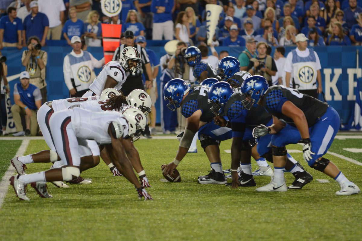 Kentucky Wildcats Football Vs South Carolina Gamecocks