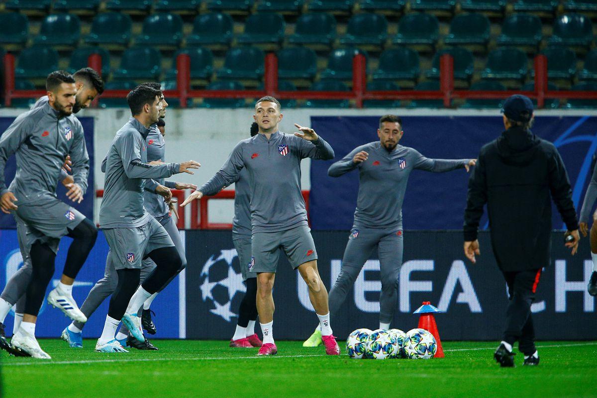 Atletico Madrid's training session