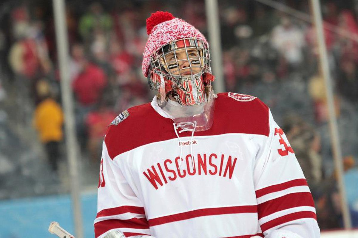 Wisconsin Auctioning Off Hockey City Classic Uniforms - Bucky s 5th ... 903d5c06d
