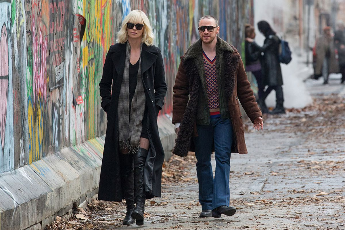 'Atomic Blonde' explodes with frenetic action as its story crumbles