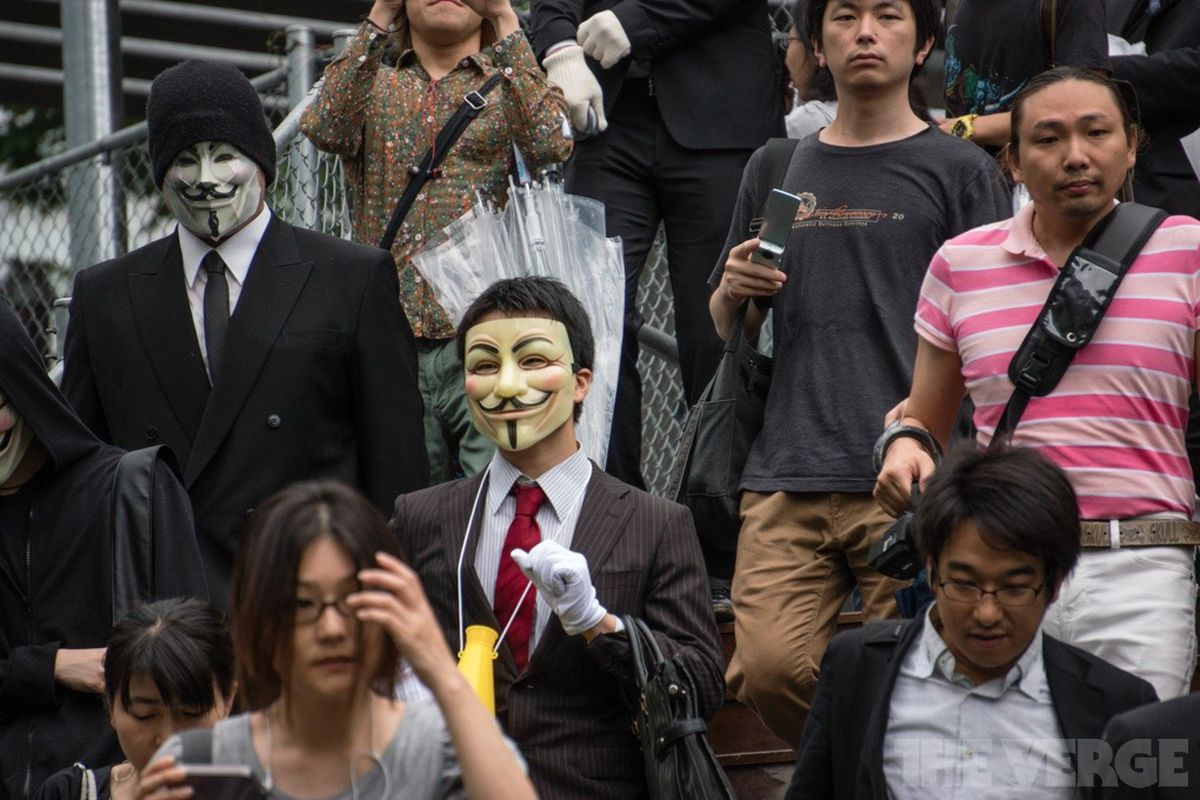 Anonymous in Tokyo