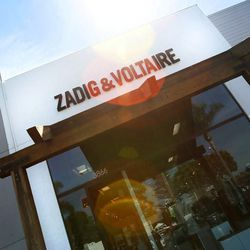 <i>Zadig & Voltaire is open Monday to Saturday from 10am to 7pm and Sunday from 12pm to 6pm.</i>