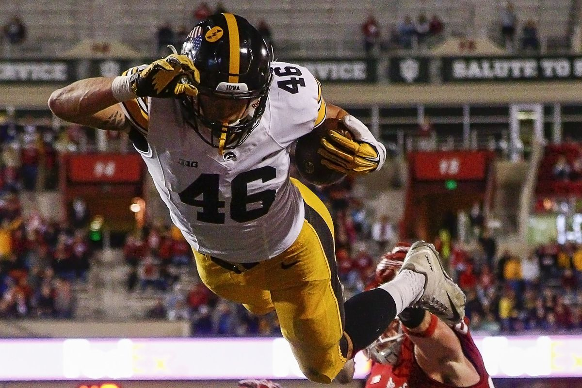 Like George Kittle, Iowa football is soaring right now.