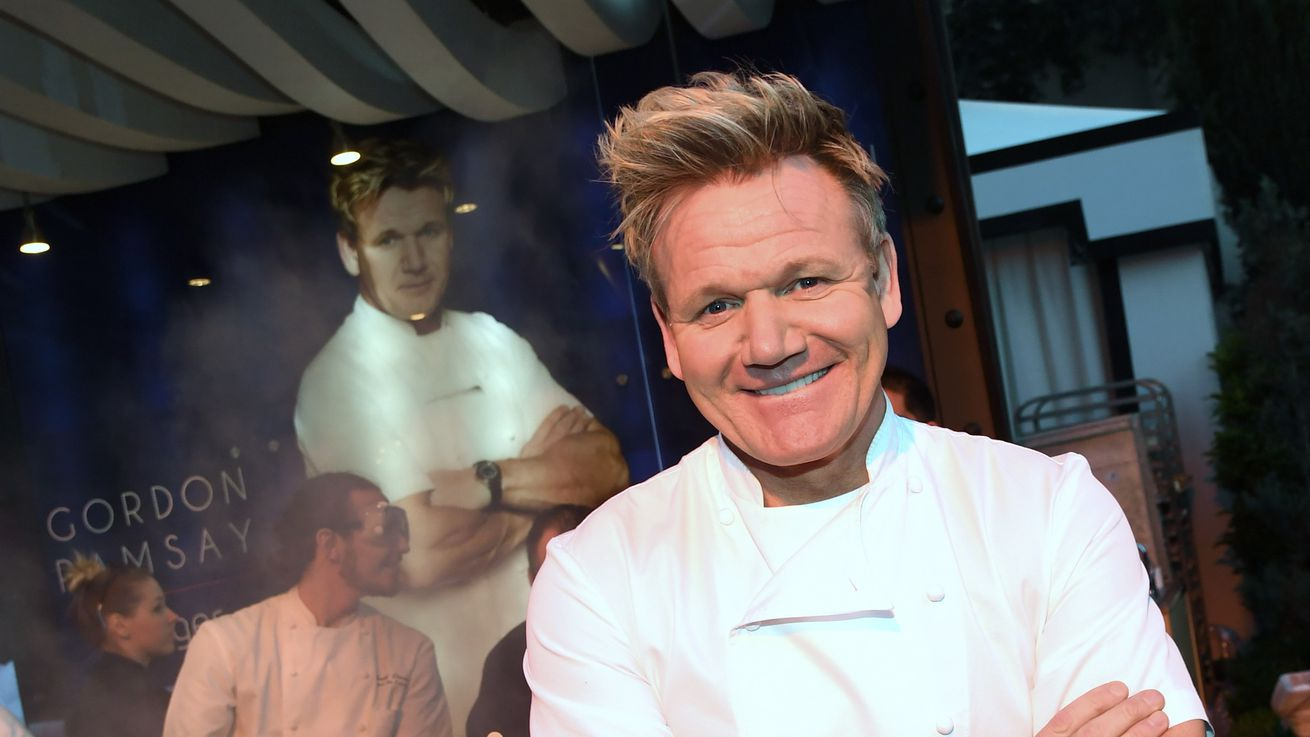 Gordon Ramsay Breaks World Record for the Fastest Time to Filet a Fish