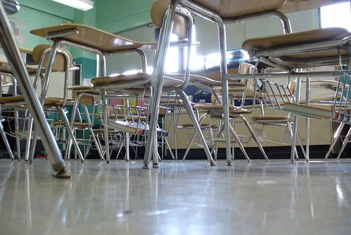 Fewer parent coordinators and keeping teachers inside city zip codes are two ways a budget watchdog says the city can save costs and raise revenue. (Via Flickr Creative Commons.)