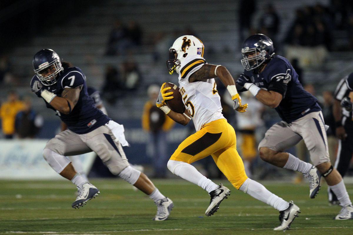 NCAA Football: Wyoming at Nevada