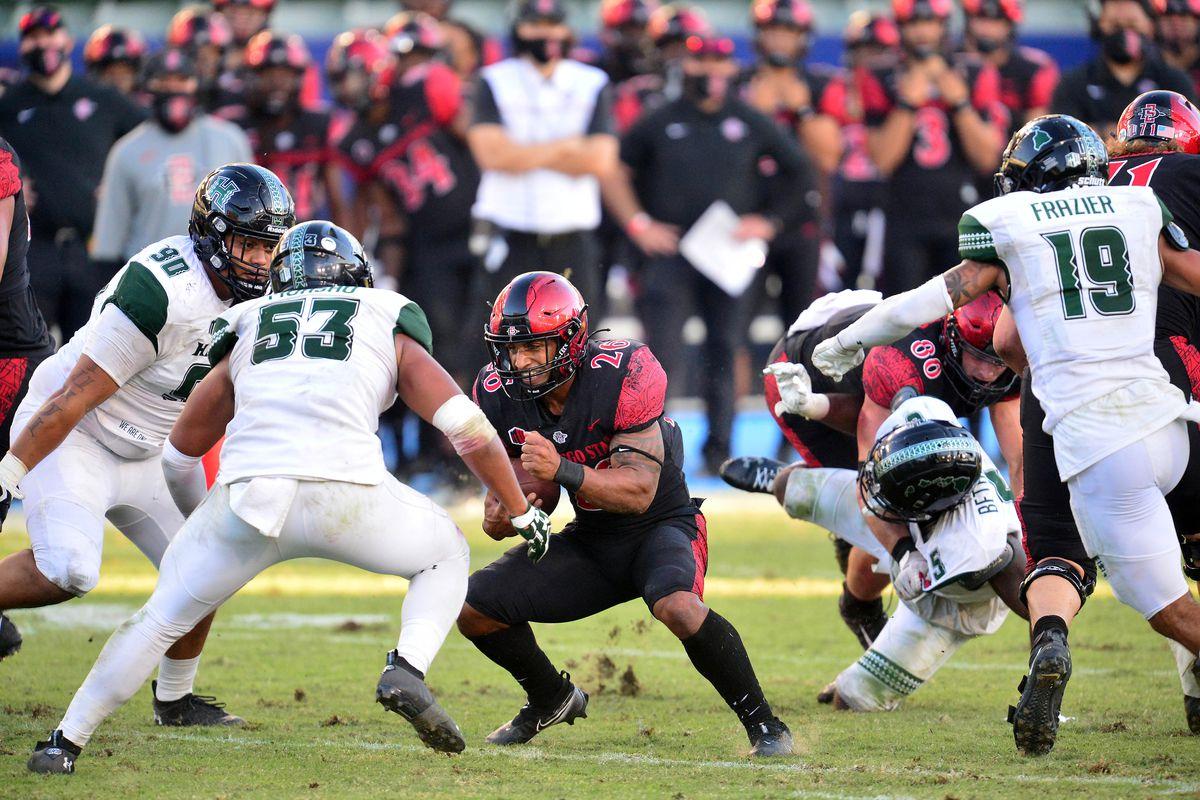 NCAA Football: Hawaii at San Diego State