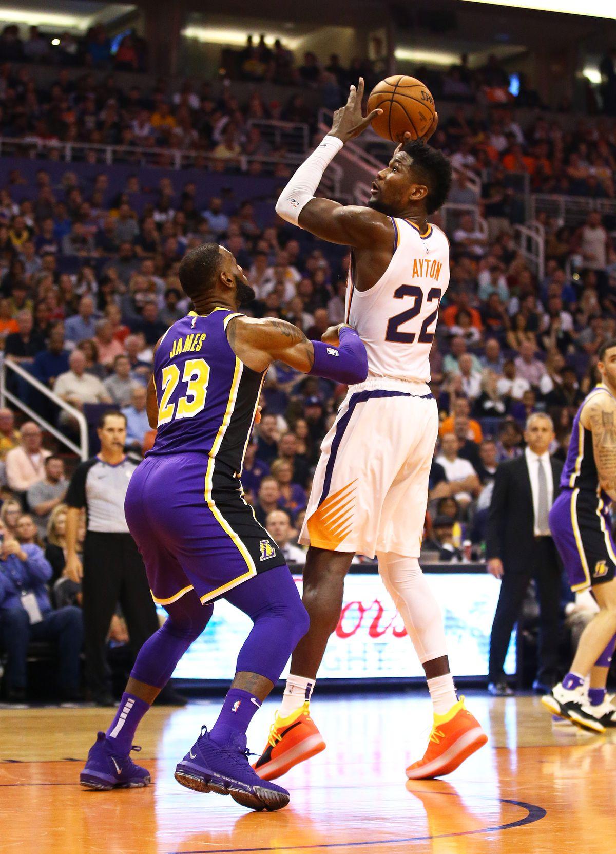 NBA: Los Angeles Lakers at Phoenix Suns