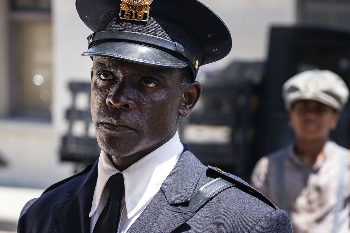 Chris Chalk plays reluctant whistleblower and beat cop Paul Drake in HBO's Perry Mason reboot.