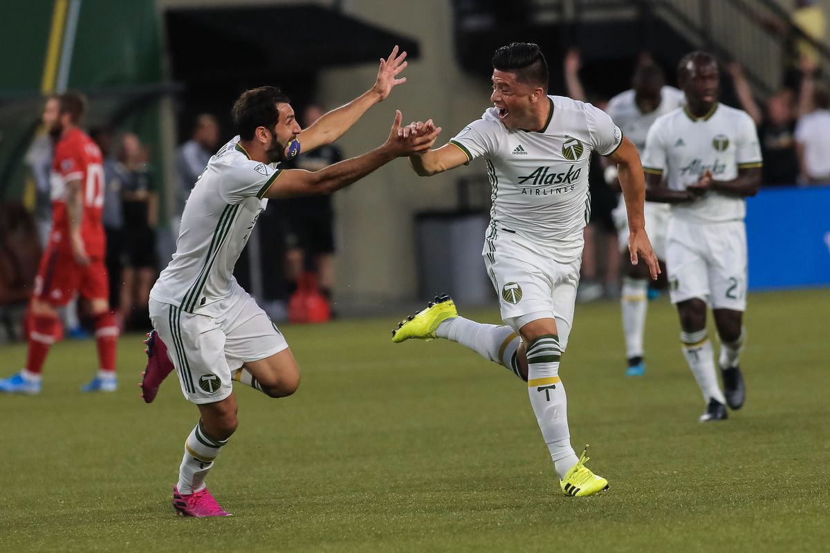 Portland Timbers get by Chicago Fire 3-2 in a weird Wednesday match