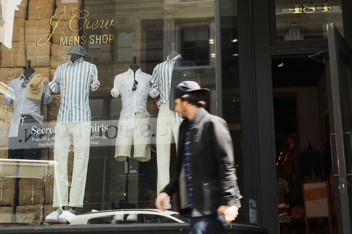 2e8efb862b A J.Crew men s store in Manhattan. Spencer Platt Getty Images ...