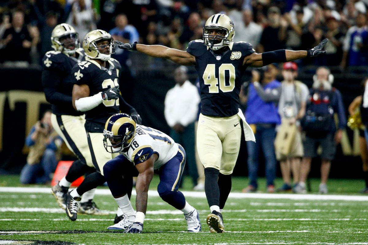 Saints Delvin Breaux suffers setback in return and won t play in