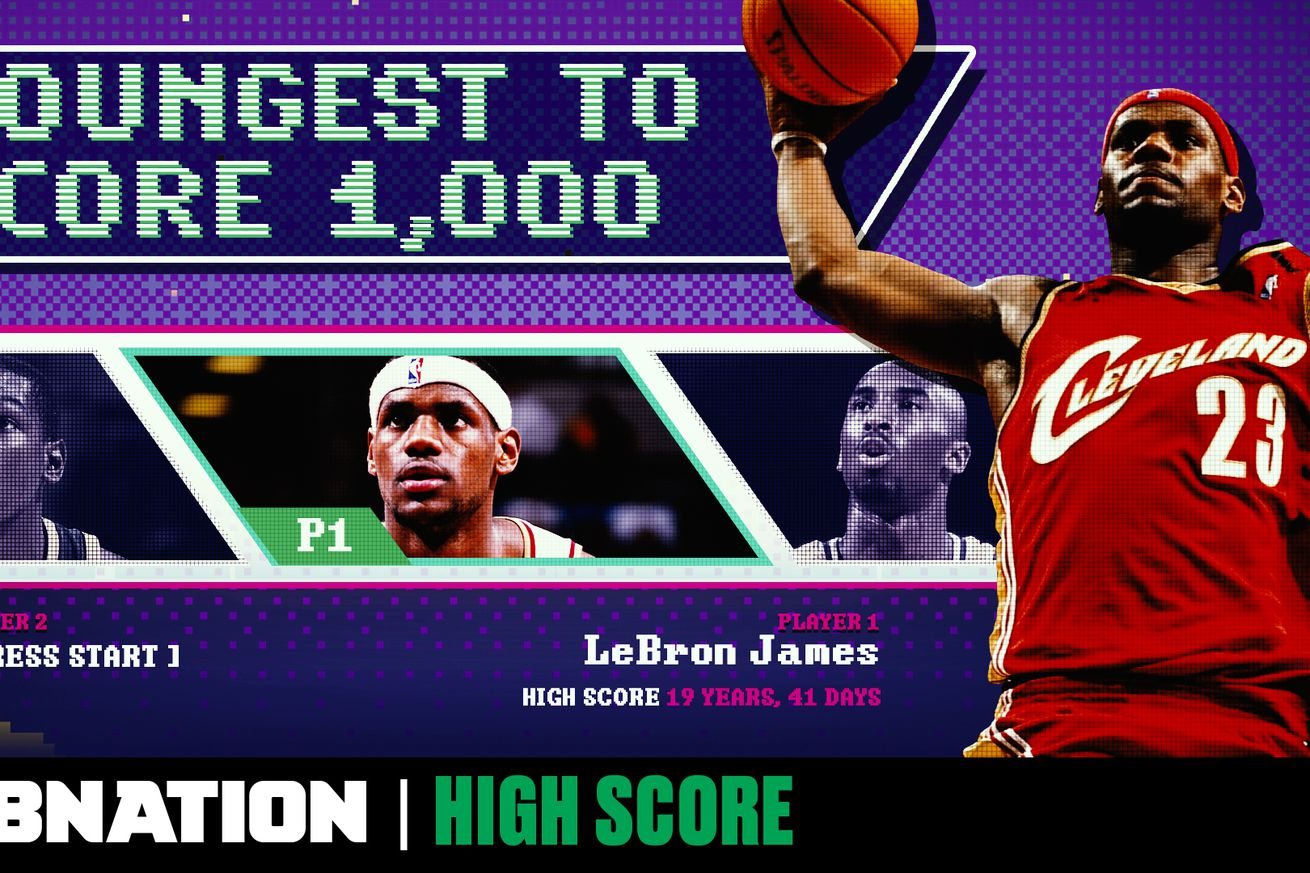 THumb HIS 005v1.0 - The youngest to 1,000: How LeBron and Kobe reached a scoring milestone in their teens