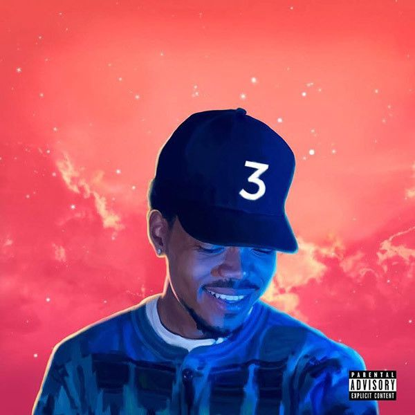 Chance the Rapper, 'Coloring Book' cover