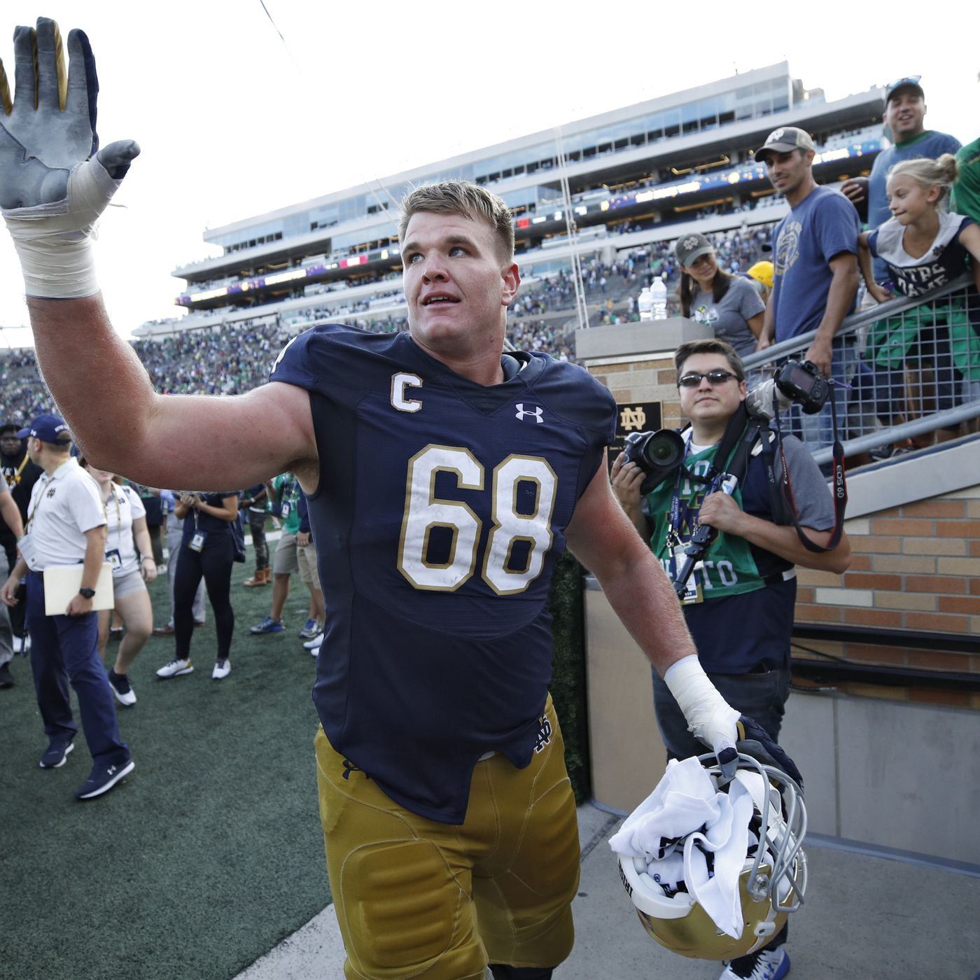 check out 1cad8 9122c 2018 NFL Draft Prospect vs Prospect: Mike McGlinchey vs ...