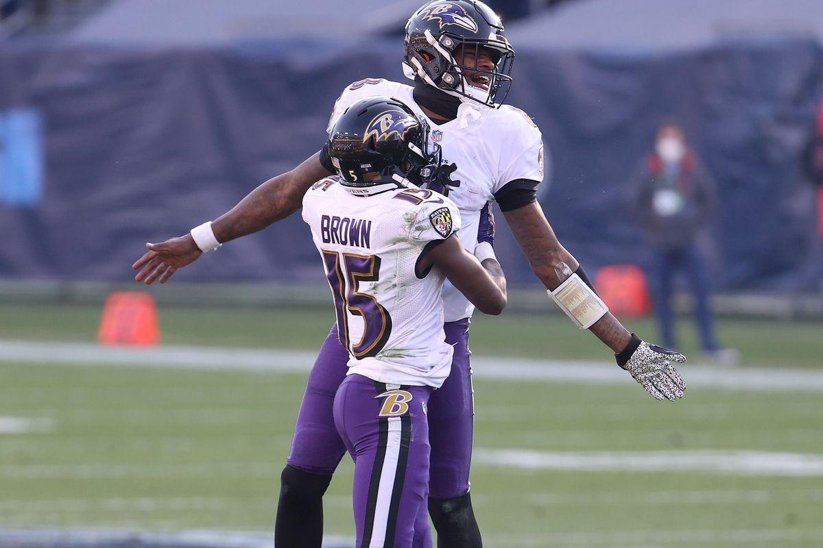 Wild Card Round - Baltimore Ravens v Tennessee Titans