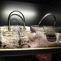 VBH Brera 40 Cavallino bag, $3,750<br />VBH python tweed Villager, $4,995