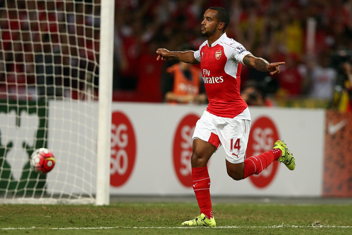 Theo Walcott netted a hat trick in Arsenal's final game last season, can he do likewise in this season's opener?
