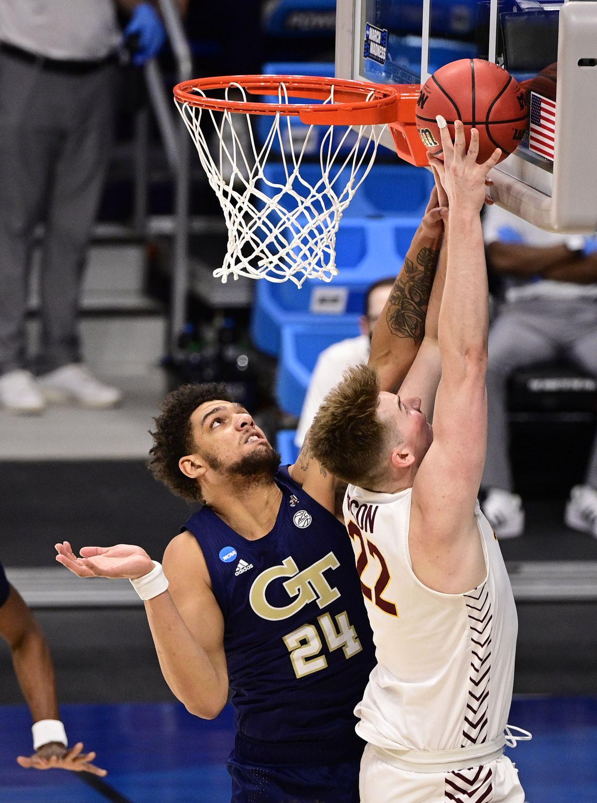 NCAA Basketball: NCAA Tournament-Georgia Tech at Loyola-Chicago
