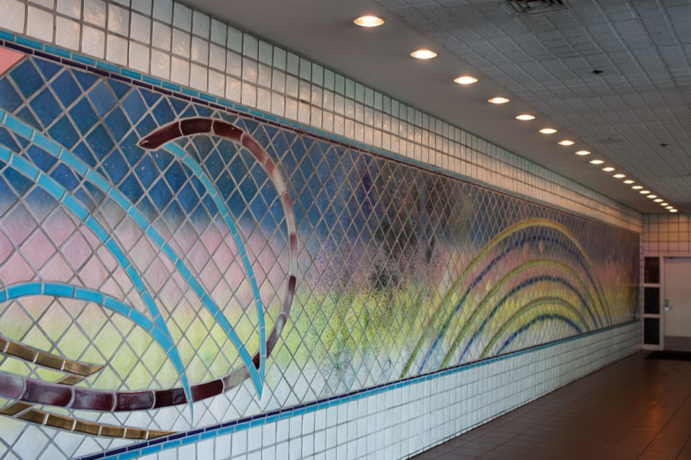 The 13 People Mover Stations Are Loaded With Impressive Art