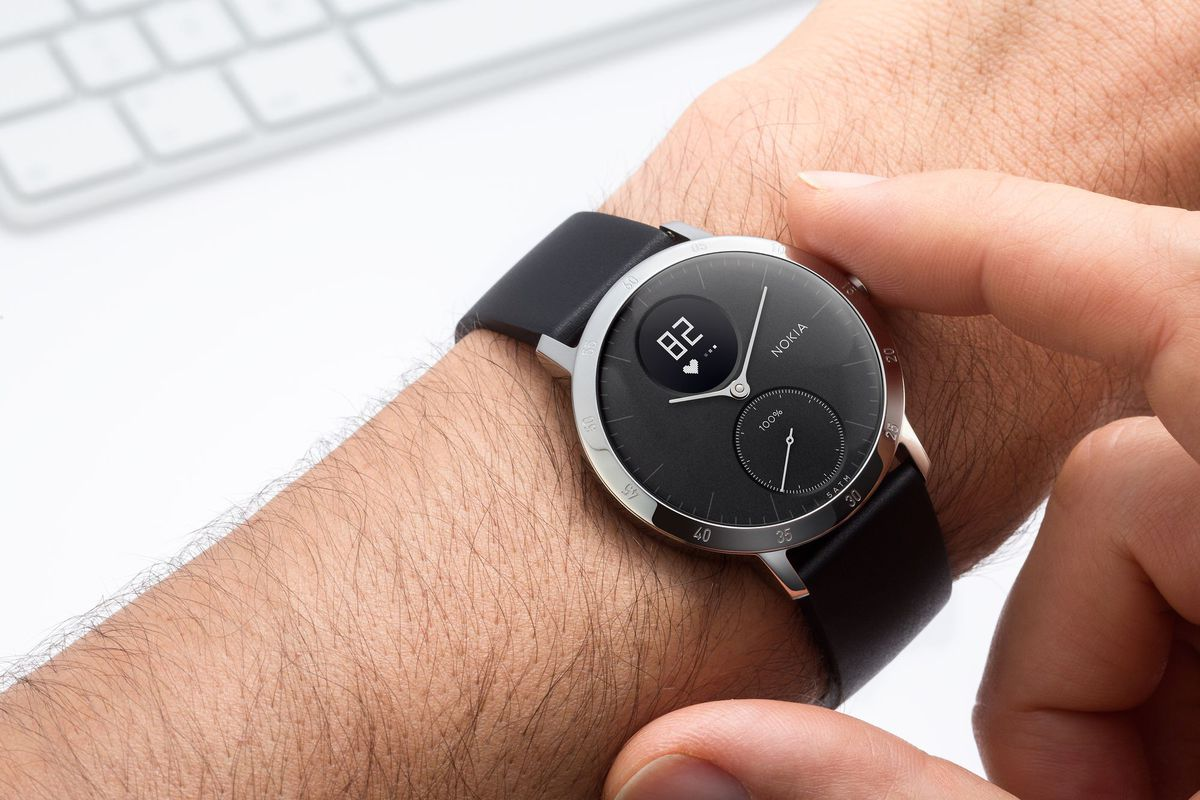 Nokias Steel HR Fitness Tracker And Watch A Rebranding Of Former Withings Product Photo By Nokia